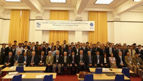 Launch of the IDRiM Society on 15 October 2009 at Kyoto University, Japan.