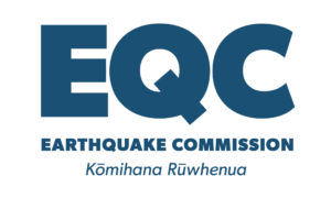 EQC Logo - Blue on white